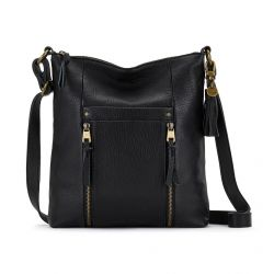 The Sak Ladera Leather Crossbody Black