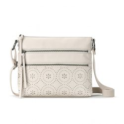 The Sak Reseda Leather Crossbody Stone Mandala Perf
