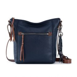 The Sak Ashland Leather Crossbody Indigo