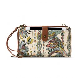 Sakroots Artist Circle Large Smartphone Crossbody Mini Bag-Purse Sunshine Spirit Desert