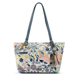 Sakroots Artist Circle Small Satchel Multi Peace Birds