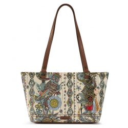 Sakroots Artist Circle Small Satchel Sunshine Spirit Desert