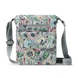 Sakroots Artist Circle Small Flap Messenger Blush In Bloom