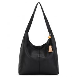 The Sak Huntley Leather Hobo Black