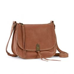 The Sak Playa Leather Saddle Bag Tobacco