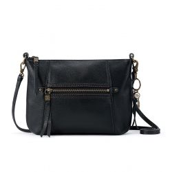 The Sak Sequoia Leather 3-in-1 Crossbody Black