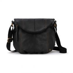 The Sak Deena Leather Crossbody Black