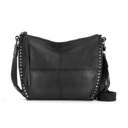 The Sak Silverlake City Leather Crossbody Black