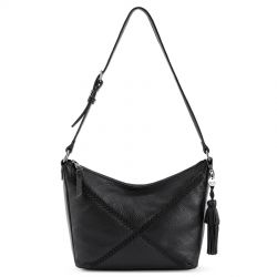 The Sak Kyetra Leather Hobo Black