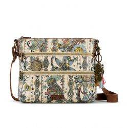 Sakroots Artist Circle Crossbody Sunshine Spirit Desert