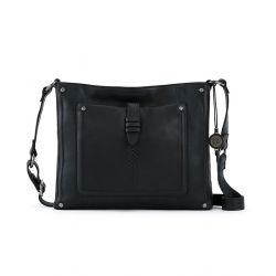 The Sak Heritage Leather Crossbody Black