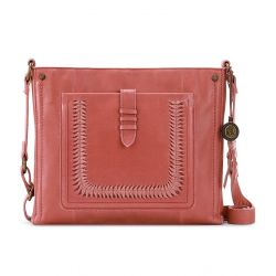 The Sak Heritage Leather Crossbody Clay