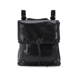 The Sak Ventura Leather Convertible Backpack Black